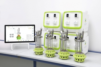 IO-Single & Parallel autoclavable stirred mini-fermentor/bioreactor