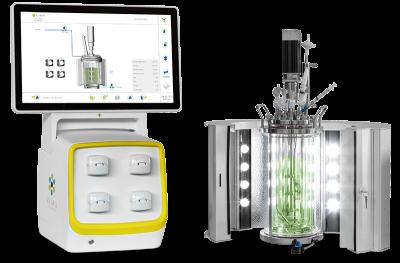 ELARA ST-Single & Parallel autoclavable stirred Photobioreactor